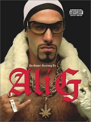 book cover of Da Gospel According To Ali G