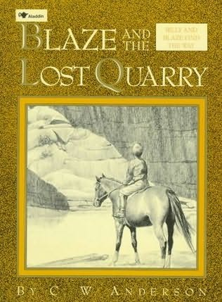 book cover of Blaze and the Lost Quarry