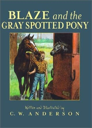 book cover of Blaze and the Gray Spotted Pony