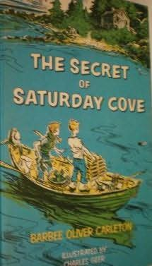book cover of The Secret of Saturday Cove