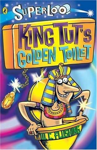 book cover of King Tut\'s Golden Toilet