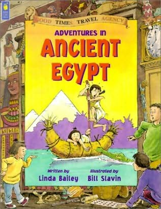 book cover of Adventures in Ancient Egypt