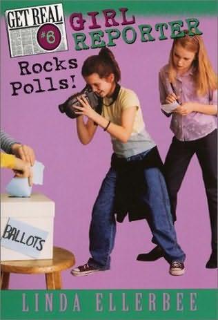 book cover of Girl Reporter Rocks Polls