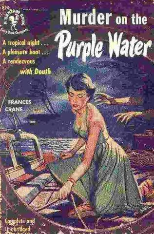 book cover of Murder On the Purple Water