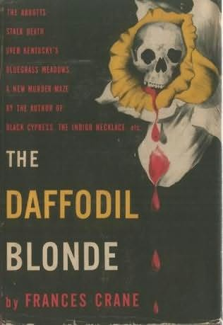 book cover of The Daffodil Blonde
