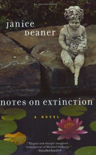 book cover of Notes On Extinction