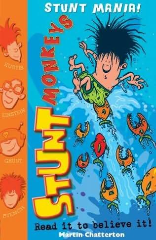book cover of Stunt Mania!