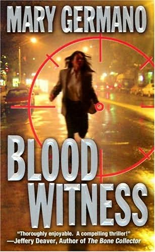 book cover of Blood Witness