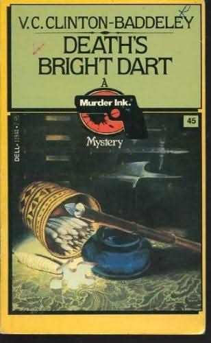 book cover of Death\'s Bright Dart