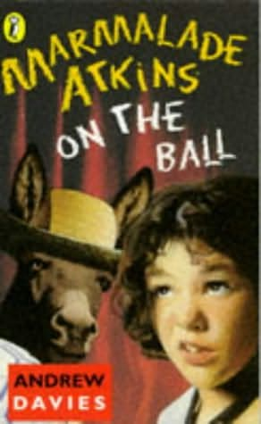 book cover of Marmalade Atkins On the Ball