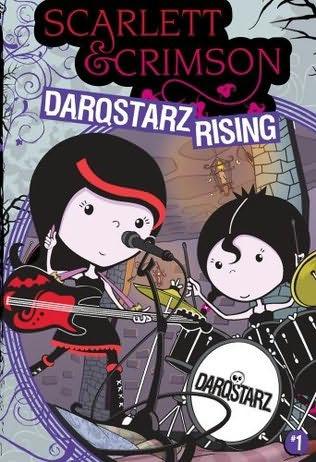 book cover of Darqstarz Rising