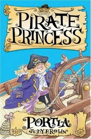 book cover of Portia the Pirate Princess
