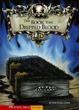book cover of The Book That Dripped Blood