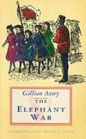 book cover of The Elephant War