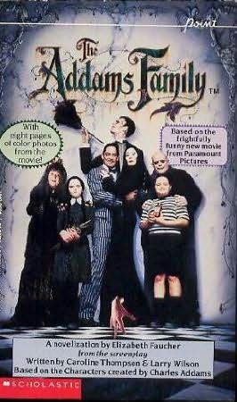book cover of The Adams Family