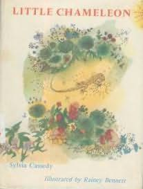 book cover of Little Chameleon