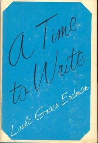 book cover of A Time to Write