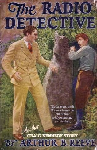 book cover of The Radio Detective