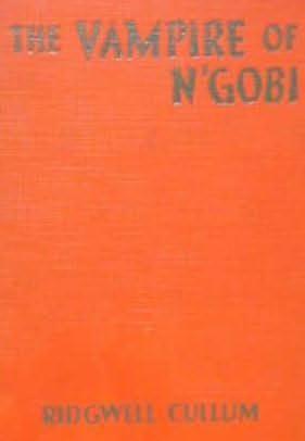 book cover of The Vampire Of N\'gobi
