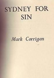 book cover of Sydney for Sin