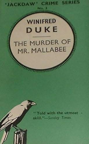 book cover of The Murder of Mr. Mallabee