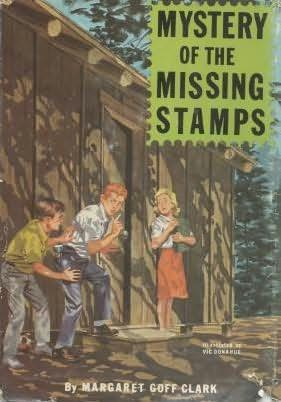 book cover of Mystery of the Missing Stamps