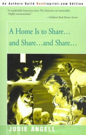 book cover of A Home Is to Share . . And Share . . And Share .