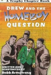 book cover of Drew and the Homeboy Question