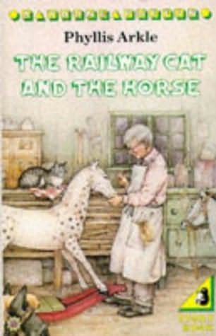 book cover of The Railway Cat and the Horse