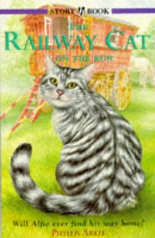 book cover of The Railway Cat On the Run