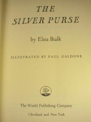 book cover of The Silver Purse