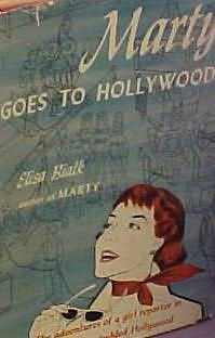book cover of Marty Goes to Hollywood