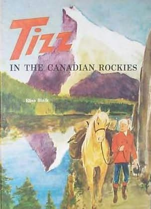 book cover of Tizz in the Canadian Rockies