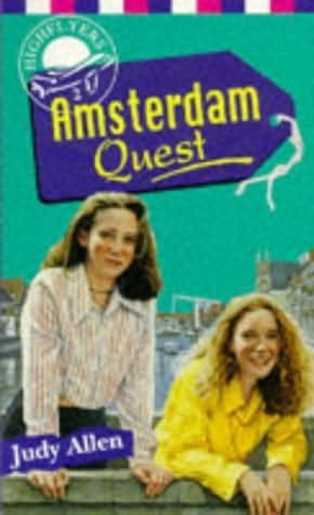 book cover of The Amsterdam Quest