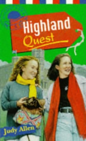 book cover of Highland Quest