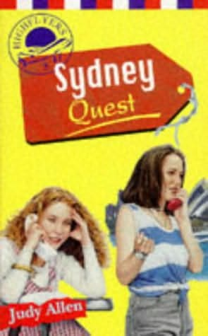 book cover of Sydney Quest