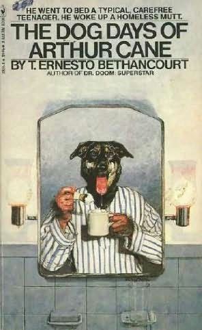 book cover of The Dog Days of Arthur Cane