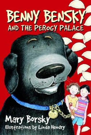 book cover of Benny Bensky and the Perogy Palace