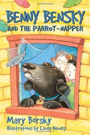 book cover of Benny Bensky and the Parrot-Napper