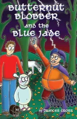 book cover of Butternut Blobber and the Blue Jade