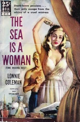book cover of The Sea Is a Woman