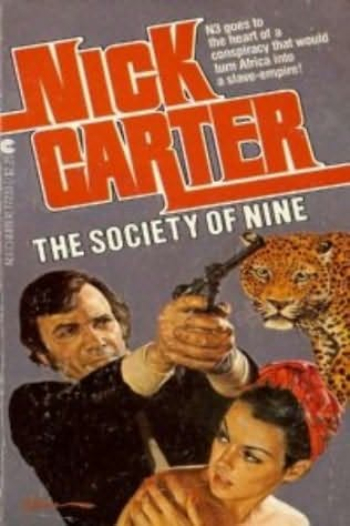 book cover of The Society of Nine