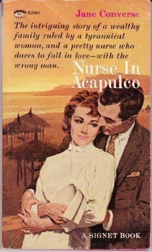 book cover of Nurse in Acapulco