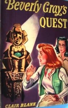 book cover of Beverly Gray\'s Quest