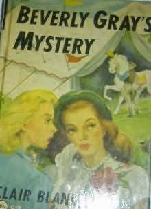 book cover of Beverly Gray\'s Mystery