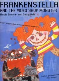 book cover of Frankenstella and the Video Shop Monster