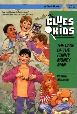 book cover of The Case of the Funny Money Man