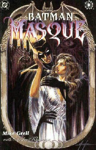 book cover of Batman : Masque