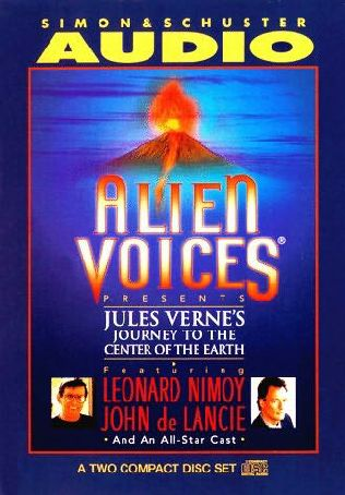 book cover of Journey to the Center of the Earth (Alien Voices)