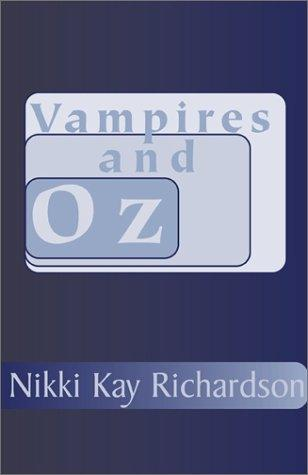 book cover of Vampires and Oz